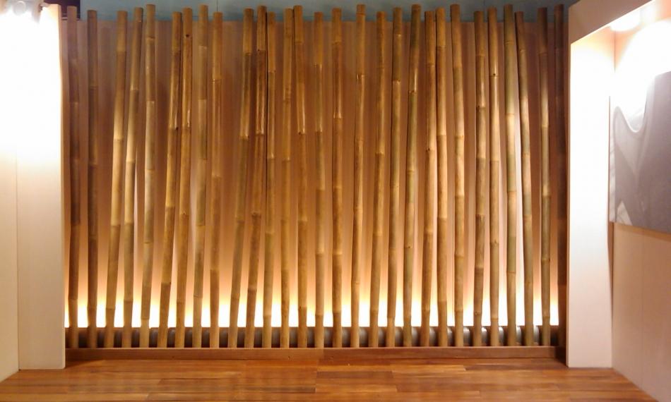 paravento canne di bambu pannelli termoisolanti